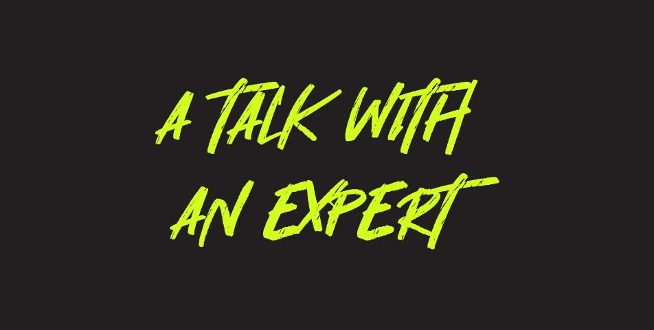 A Talk Whit an Expert