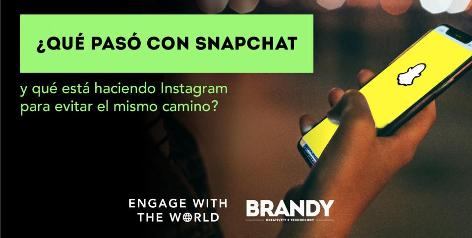 ¿Qué pasó con Snapchat y qué está haciendo Instagram para evitar el mismo camino?